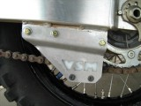 REAR CHAIN GUIDE SUPPORT