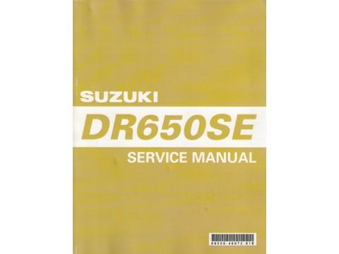 genuine suzuki dr650 service manual rh vincestrangmotorcycles com au suzuki dr 650 manual service suzuki dr650 manual download