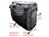 ANVANDY STRAPZ TRAVELLER PANNIERZ - FORWARD ORDER