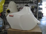 SAFARI 30L FUEL TANK - WHITE